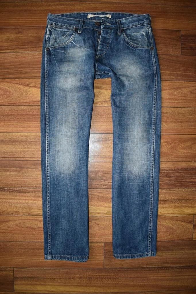 Wrangler Crank Męskie Spodnie Jeansy W32 L32