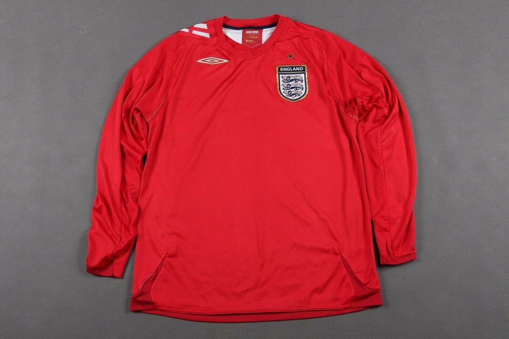 Bluzka piłkarska Anglia 2006/07/08 - L - Umbro