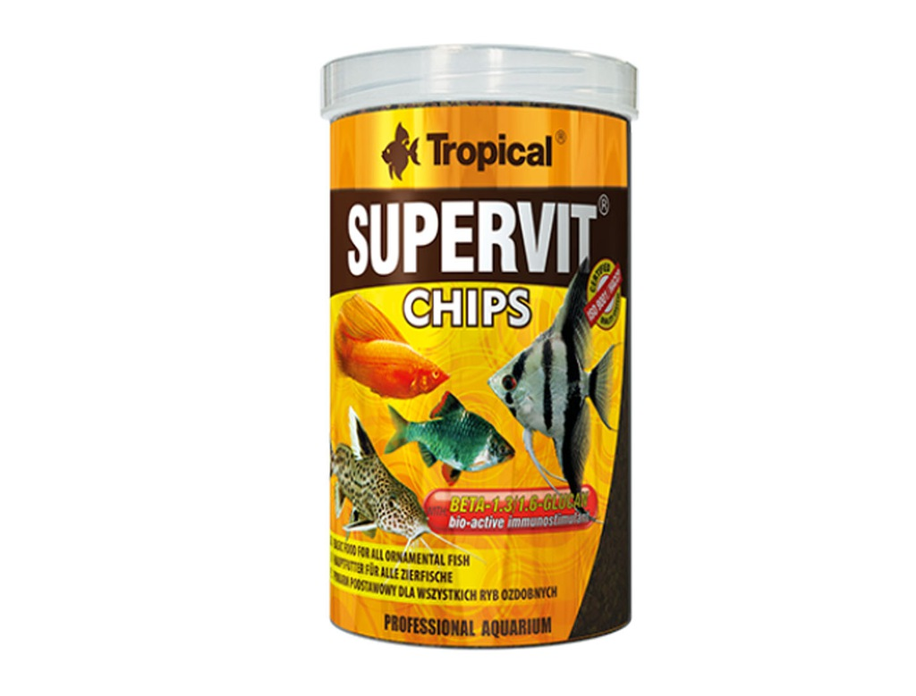 TROPICAL SUPERVIT CHIPS 1000ML (520g) ORYGINAŁ