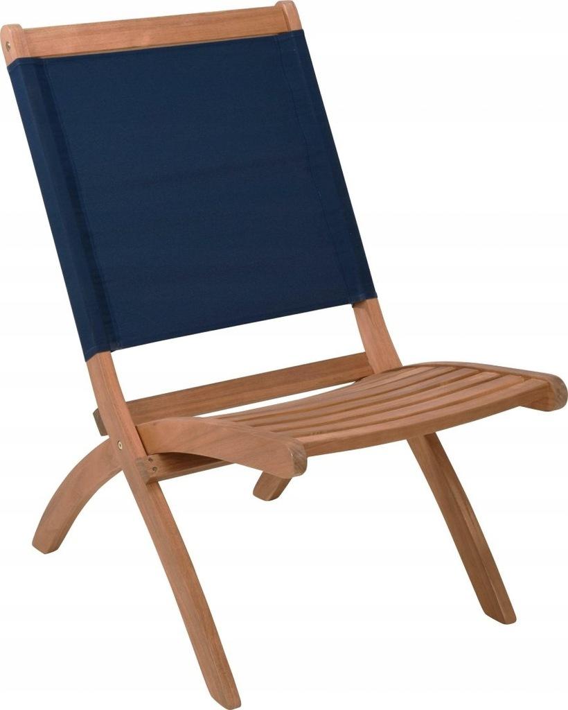 Fotel Fame niebieski