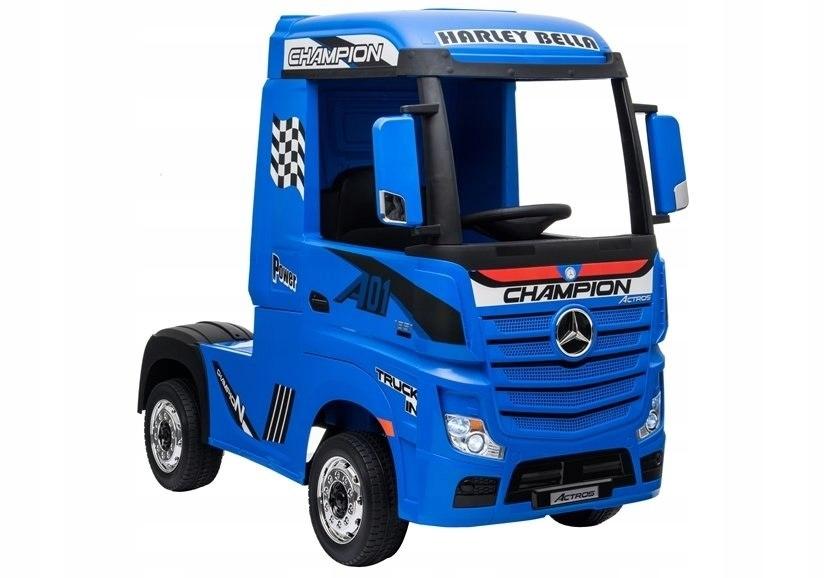 Auto na Akumulator Mercedes Actros Niebieski Lakie