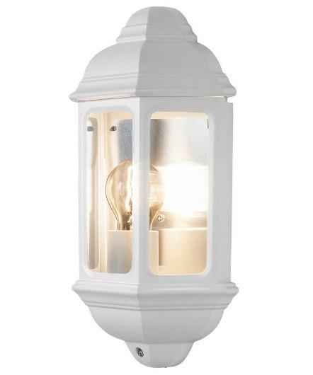 KINKIET/PLAFON BIAŁY E27 IP44 100W ścienna lampa s