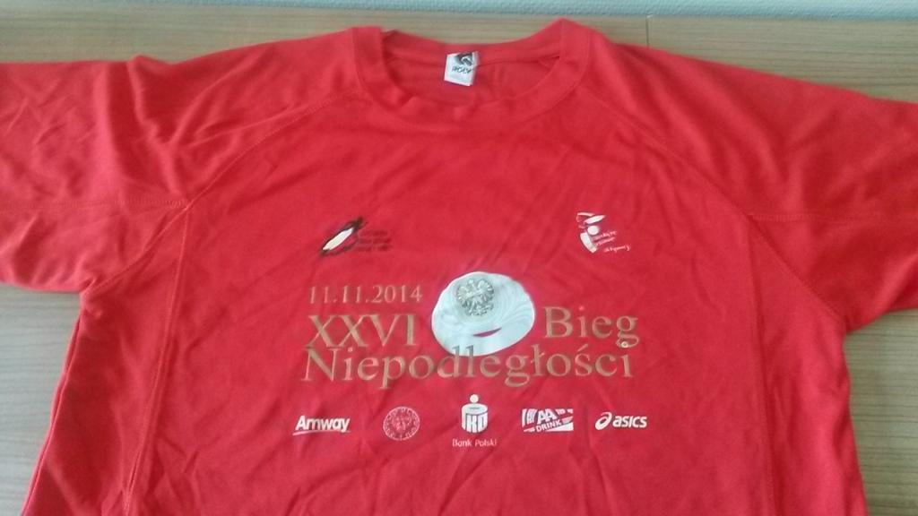 Koszulka biegowa - Bieg Niepodległości 2014