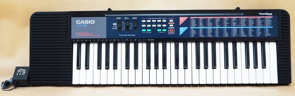 KEYBOARD CASIO CA-110 MADE IN JAPAN
