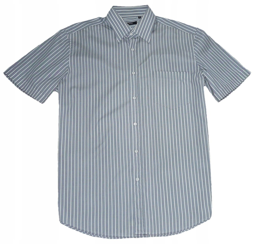 HUGO BOSS koszula męska REGULAR XL 43 pasy j. nowa