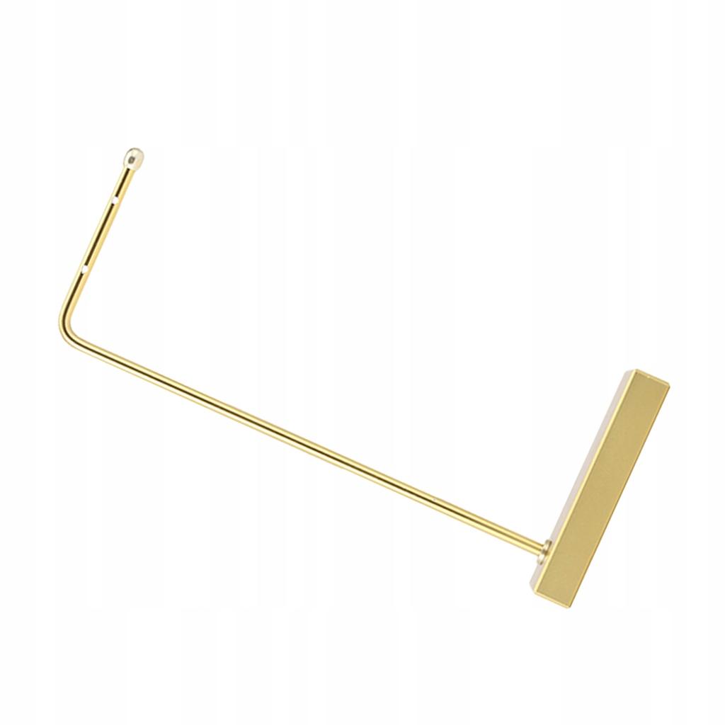 Wielofunkcyjna półka na biżuterię - Duży złoty