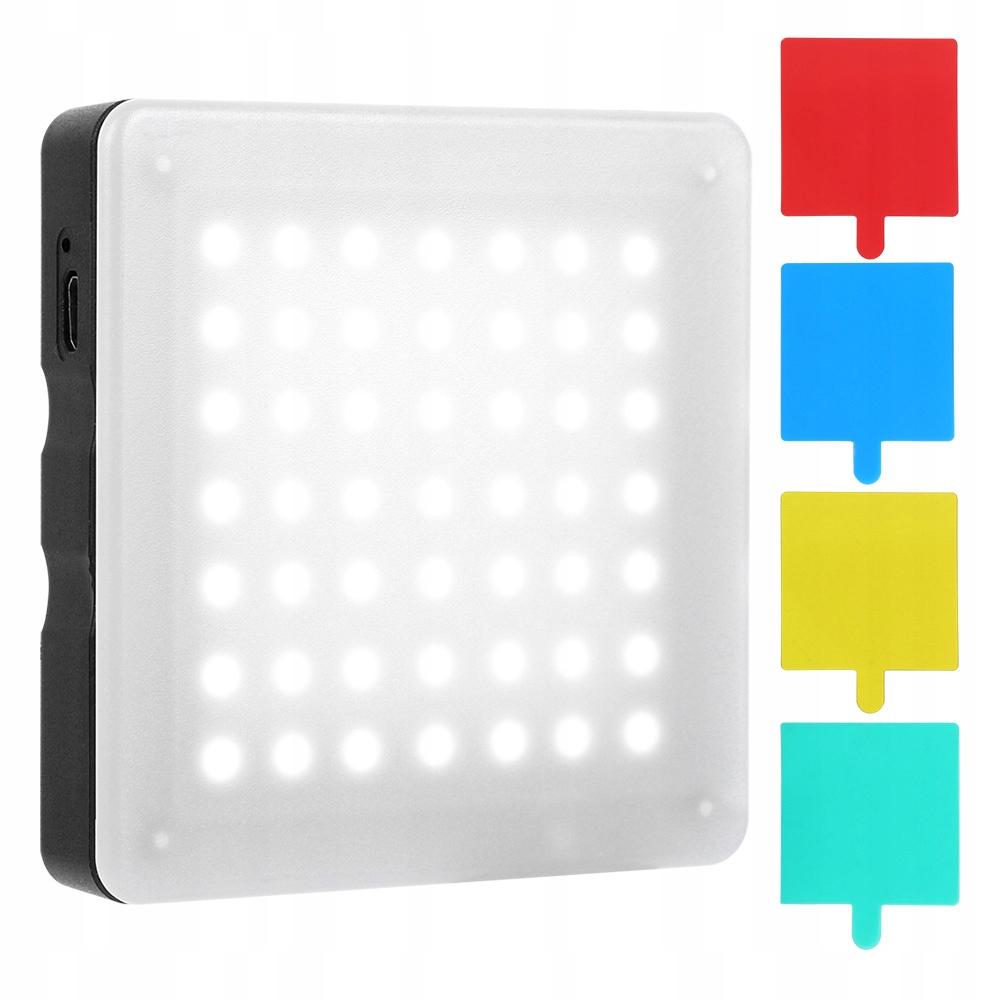 kompaktowe i lekkie światło LED