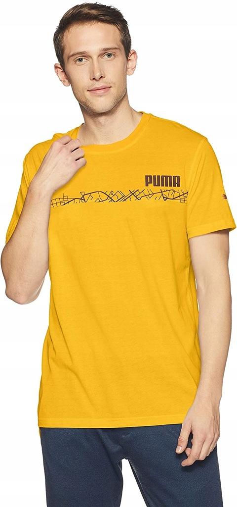 R733 PUMA Graphic Treningowa męska koszulka L
