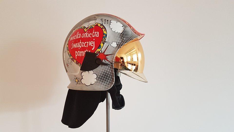 Kolekcjonerski hełm strażacki