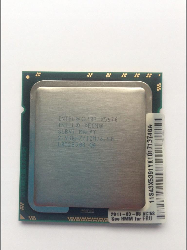 Procesor Intel Xeon X5670 idealny