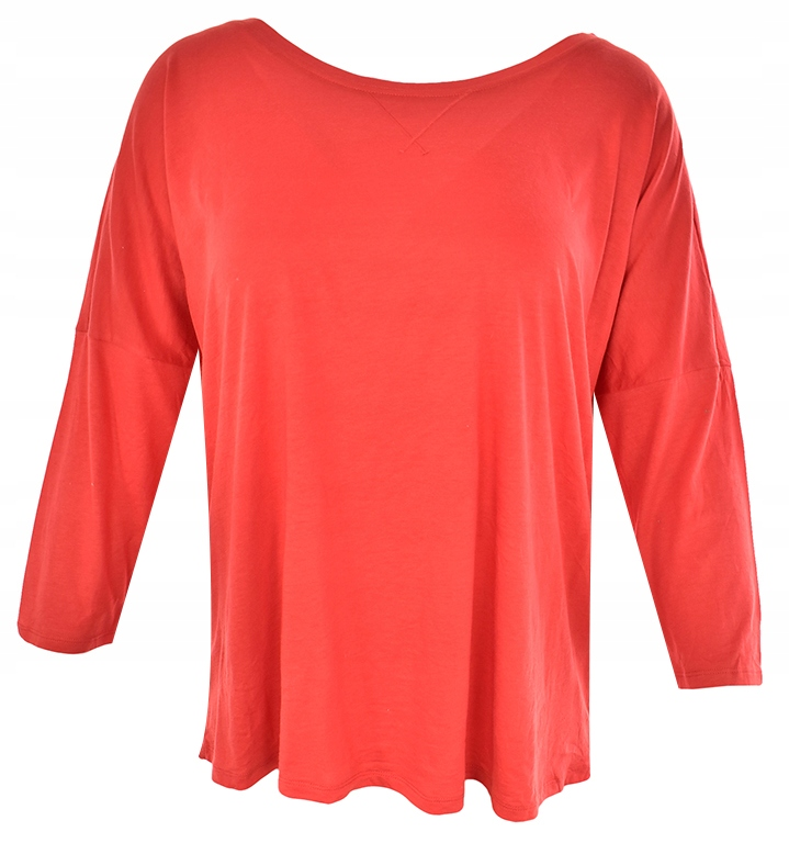 tBA1781 M&S czerwona casualowa bluzka 50
