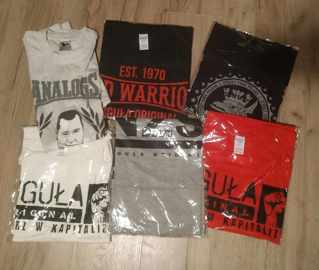 ANALOGS pakiet 6 x t-shirt rozmiar XXL + Okazja!!!