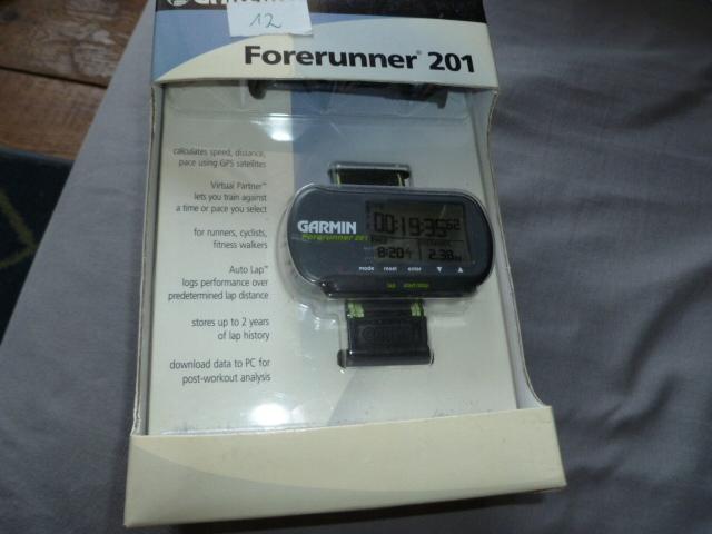GPS GARMIN FORERUNNER 201