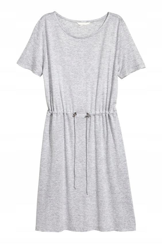 sukienka dżersejowa H&M 36 S D61