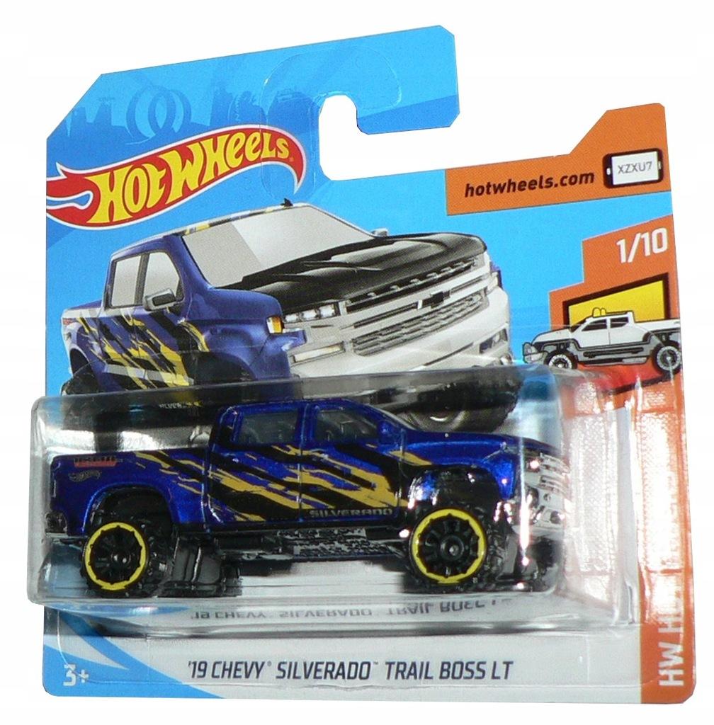 Hot Wheels - '19 CHEVY SILVERADO TRAIL BOSS LT