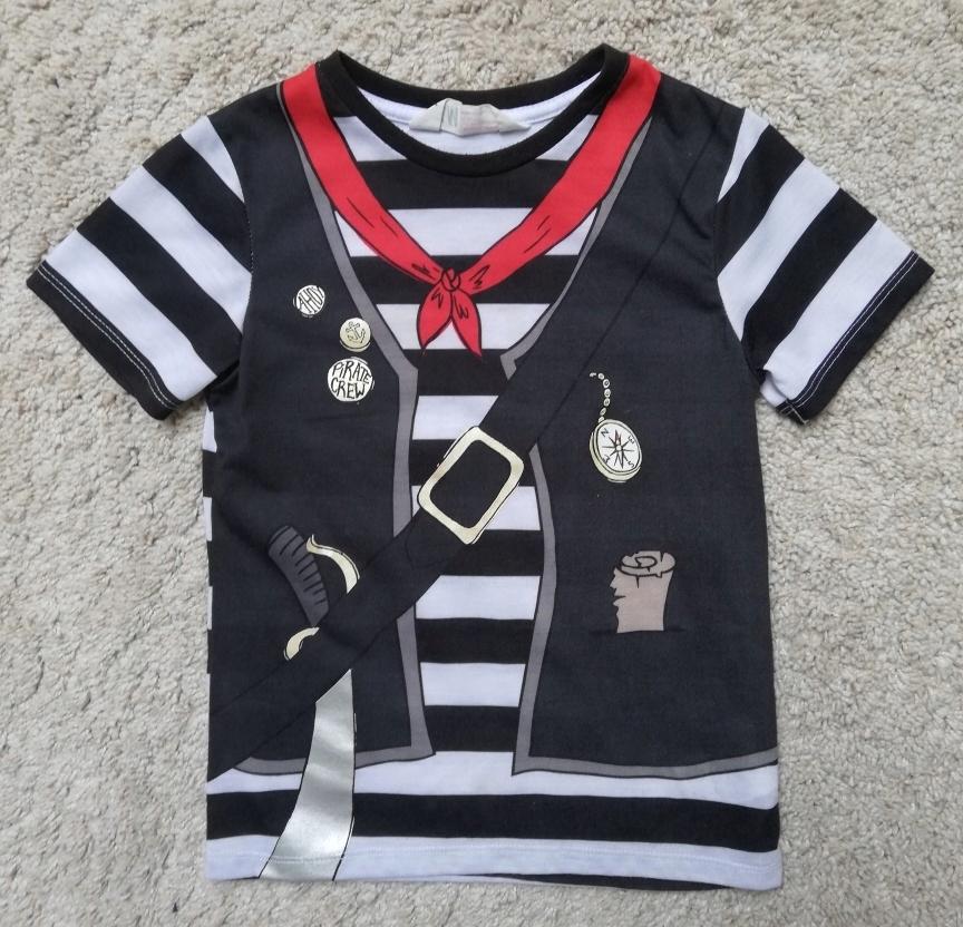 KOSZULKA t-shirt PIRAT H&M R. 98-104