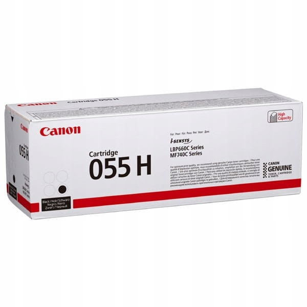 Canon oryginalny toner 055H, black, 7600s, 3020C00