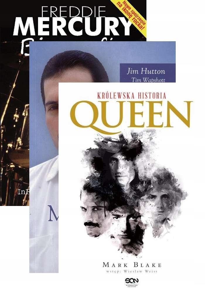 Freddie Mercury Biografia Queen Krolewska Historia 7686485798 Oficjalne Archiwum Allegro