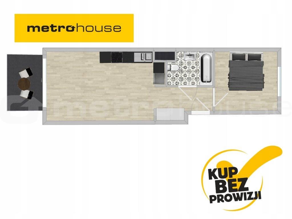 Mieszkanie Pruszków, pruszkowski, 42,77 m²