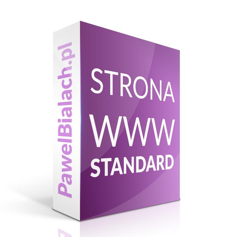 Strona internetowa WWW Tworzenie stron STANDARD