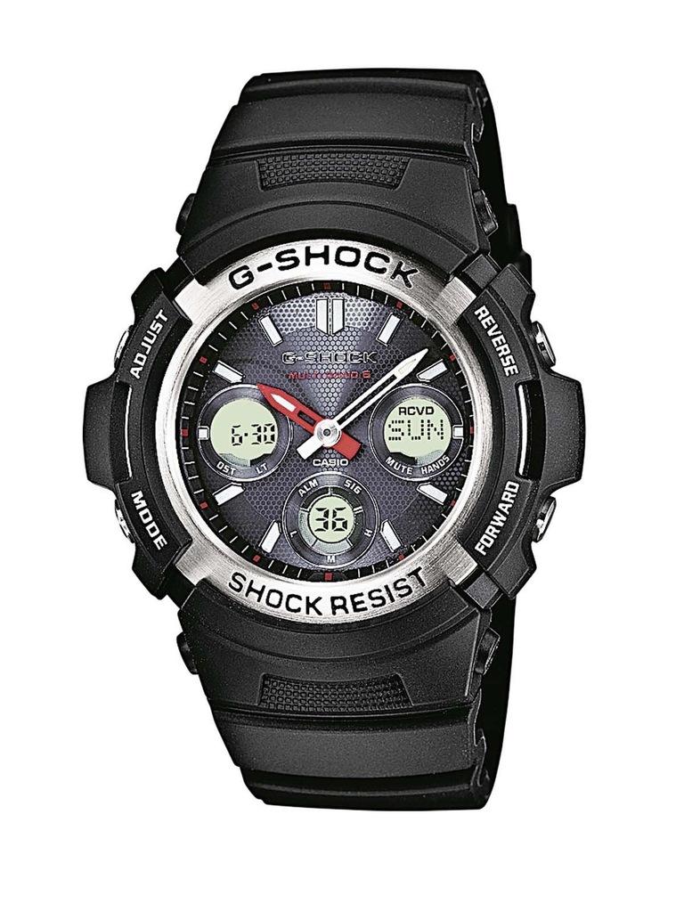 Zegarek męski CASIO AWG-M100-1AER G-SHOCK SOLAR