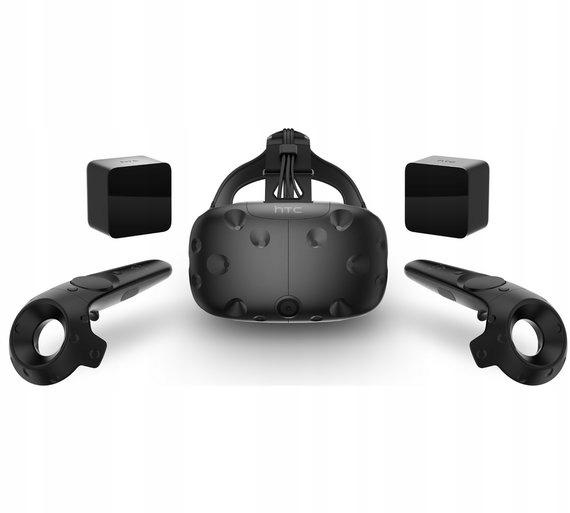 HTC VIVE ZESTAW KOMPLETNY GOGLE VR FAKTURA VAT 23%