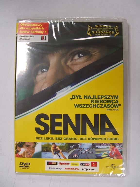 Senna - film DVD [NOWA]