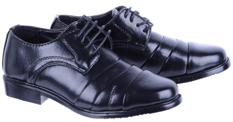 Buty Komunijne Badoxx C-133 Chłopięce Czarne 32