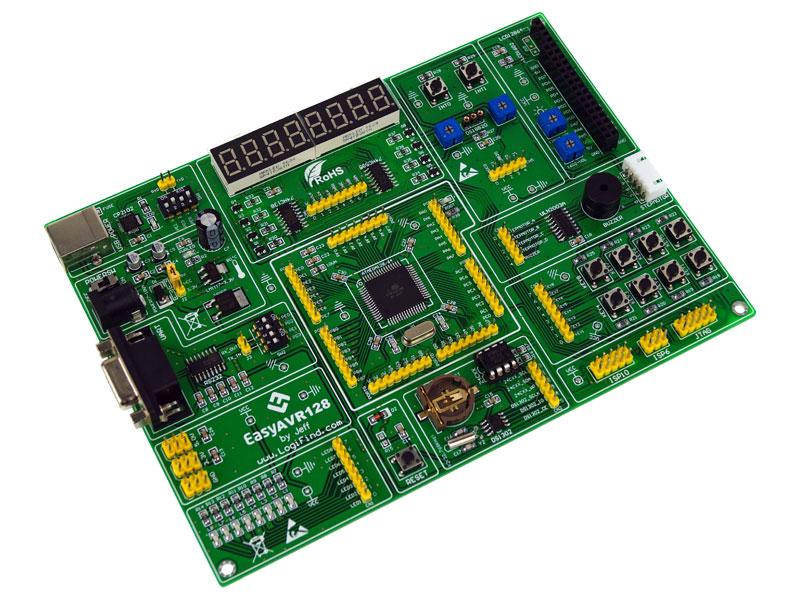 Moduł uruchomieniowo rozwojow easyAVR128 ATmega128