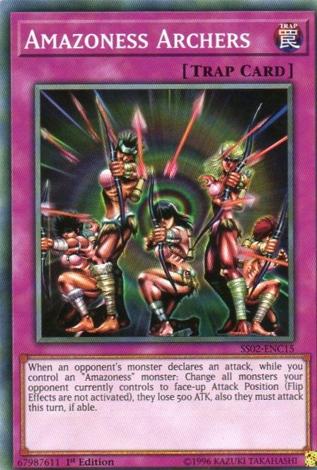 Karta YU-GI-OH - Amazoness Archers