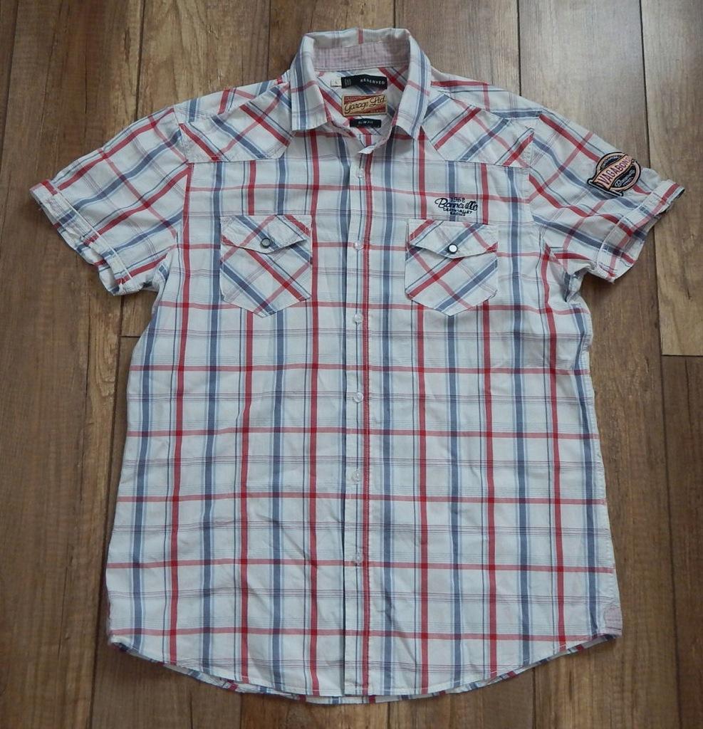 koszula RESERVED # rozmiar L/XL # ZOBACZ INNE