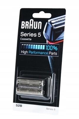Braun Folia + Blok ostrzy 52B Seria 5