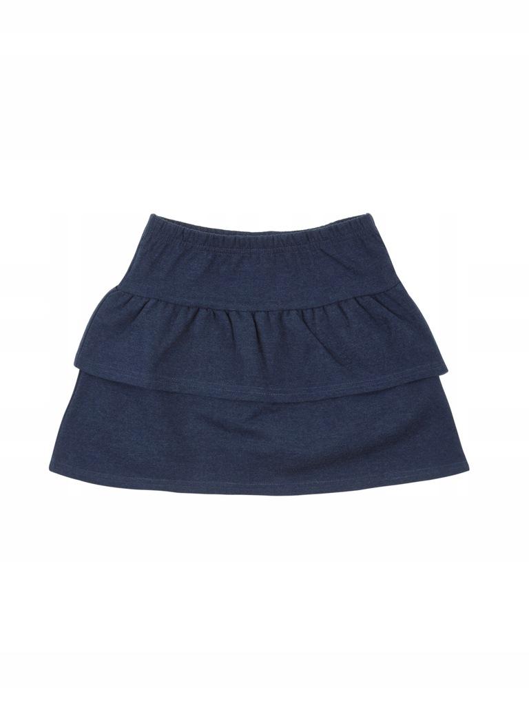 TXM spódnica dziewczęca 128 NIEBIESKI
