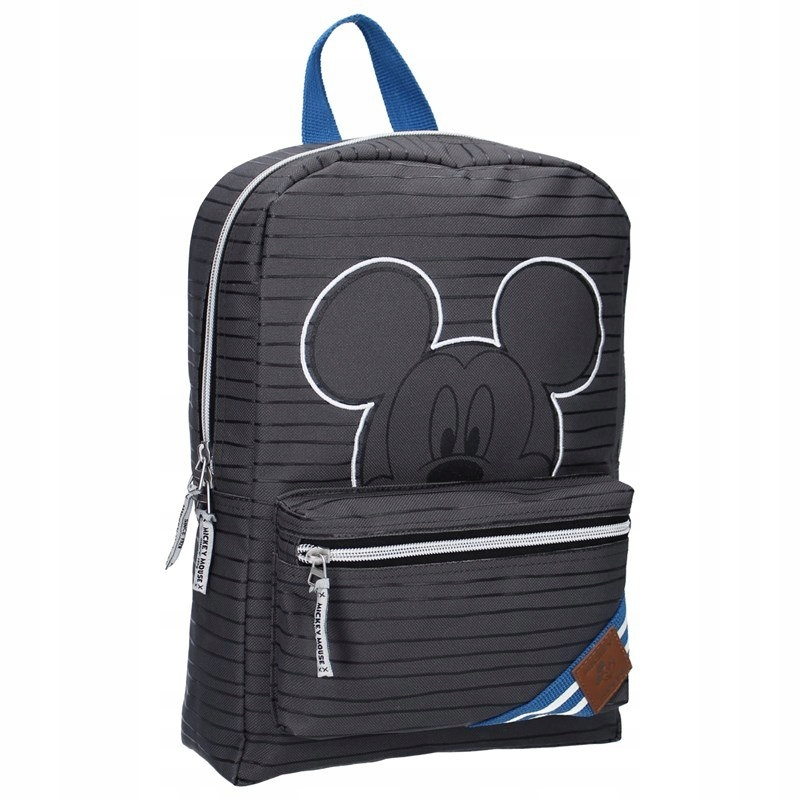 Mickey Mouse - Plecak szary (33 x 23 x 12 cm)