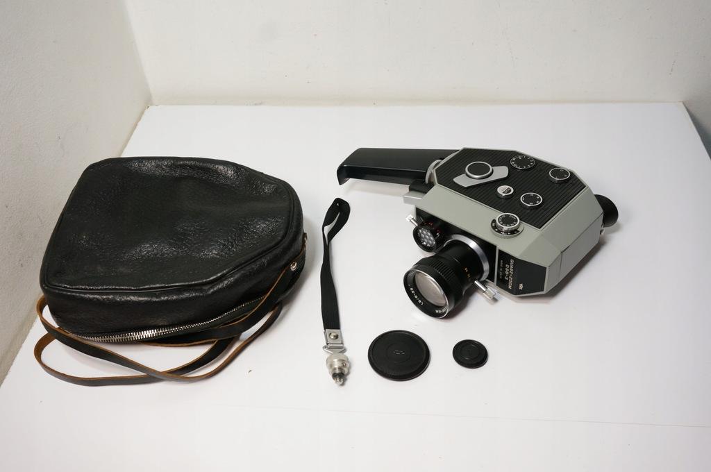 Kamera Analogowa USSR Quarz-Zoom DS8-3 8mm