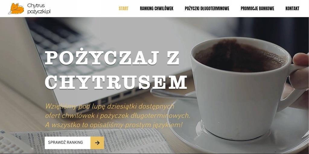 Strona www gotowa porównywarka pożyczek