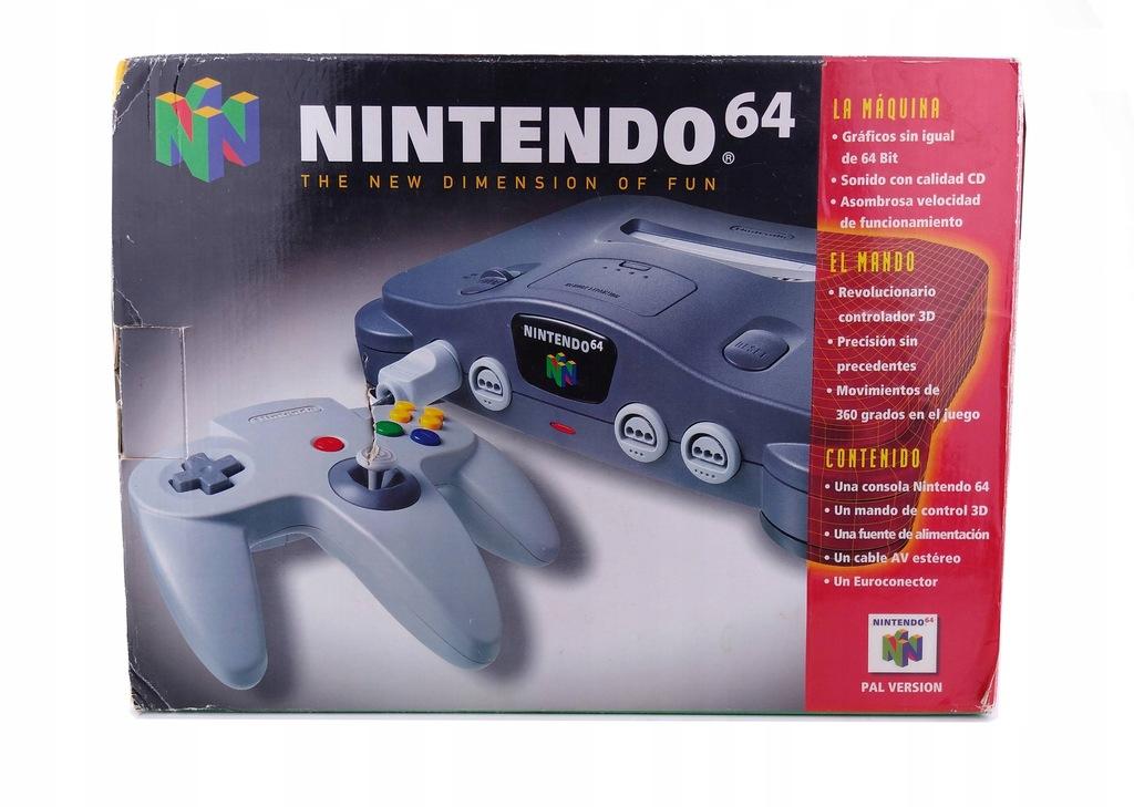 N64 BOX ŁADNY GRY ! Nintendo 64