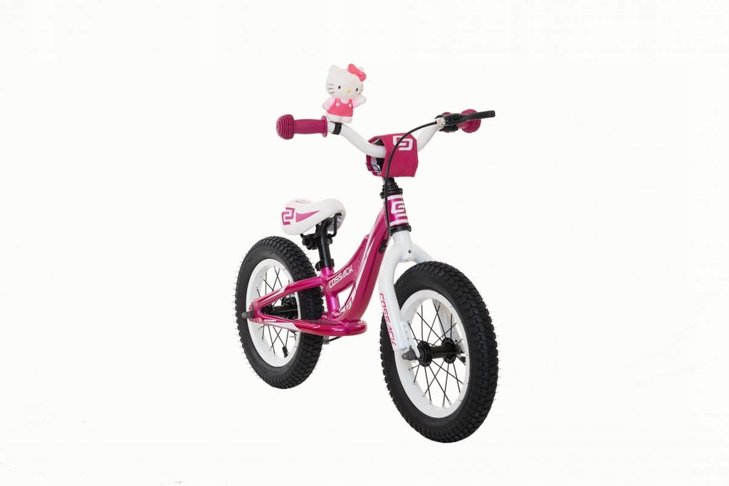 Rower biegowy dziecięcy Cossack Iggi - różowy - 12