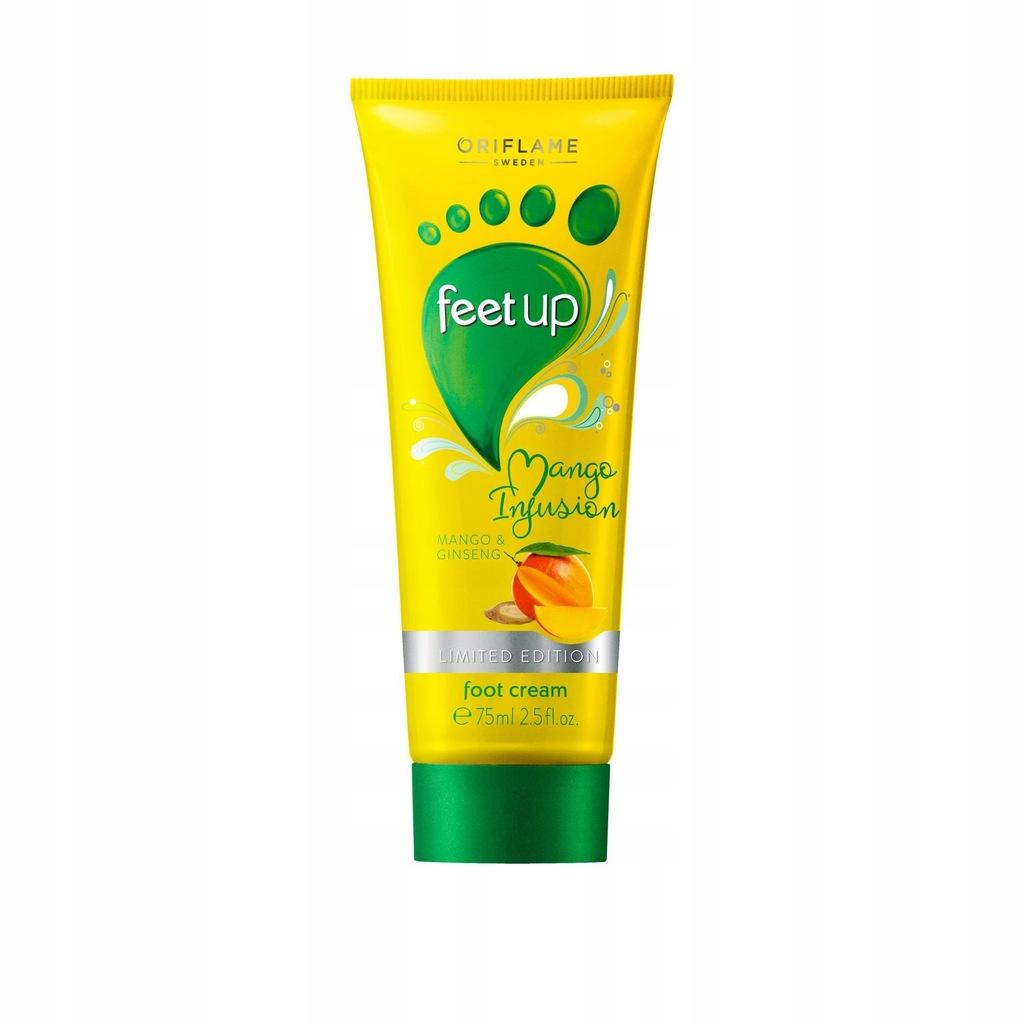Krem do stóp z mango i żeń-szeniem Feet Up Mango