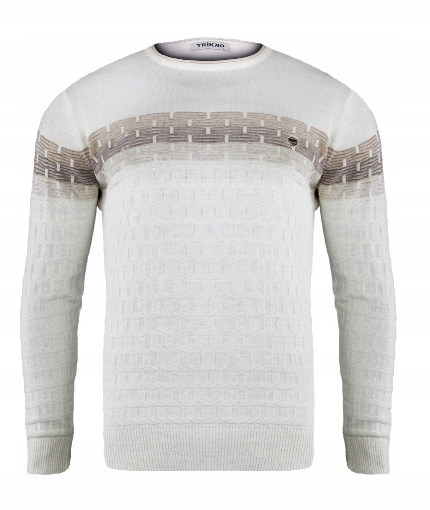 Męski Sweter 665 Trikko TURKISH SWEATER WOOL _M