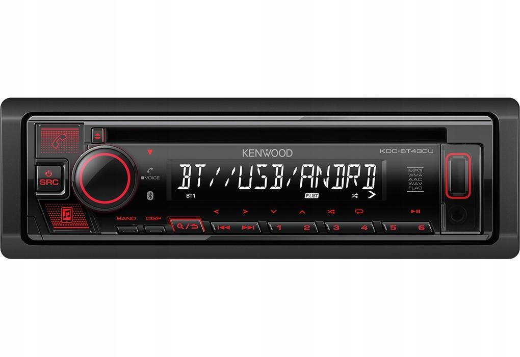 Radio Samochodowe Kenwood Kdc Bt430u Usb Spotify 7758528946 Oficjalne Archiwum Allegro