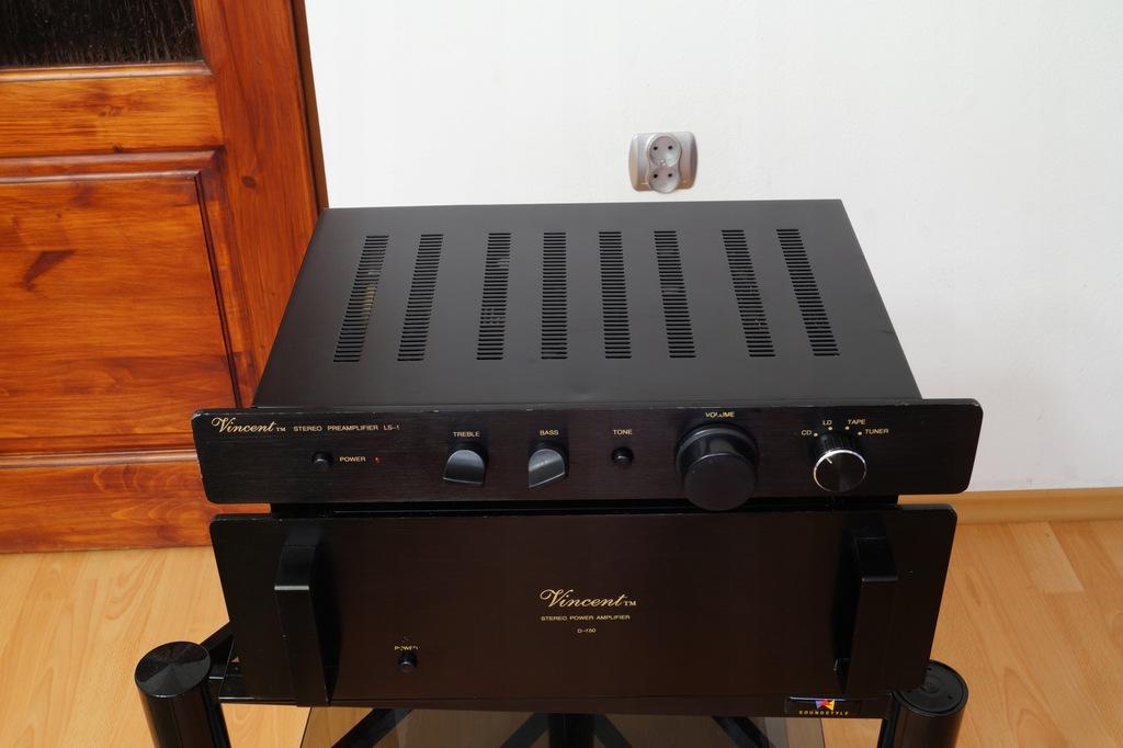 Końcówka Mocy + Pre amp Vincent D-150 + LS-1