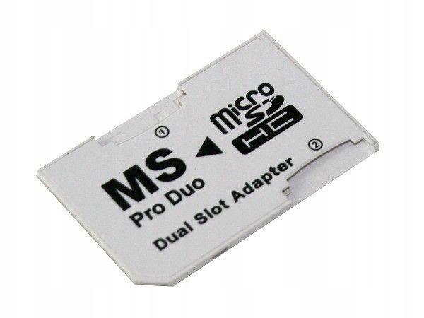 ADAPTER DUAL MICRO SD / MEMORY STICK PRO DUO