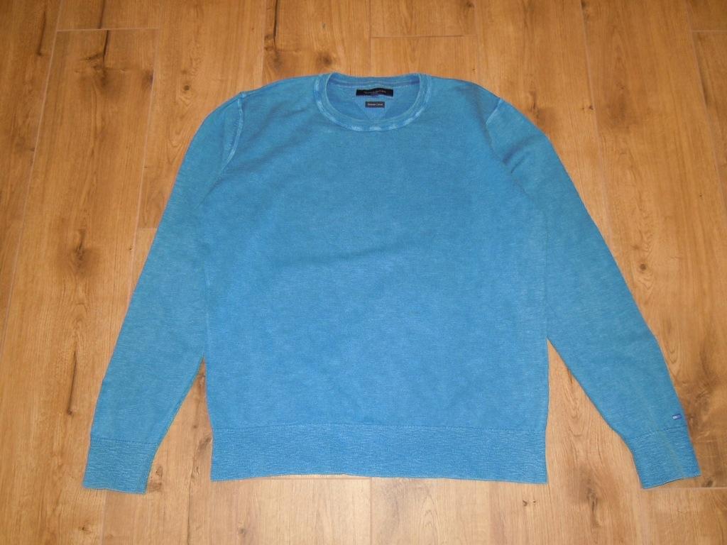 TOMMY HILFIGER sweter jak bluza XL/XXL