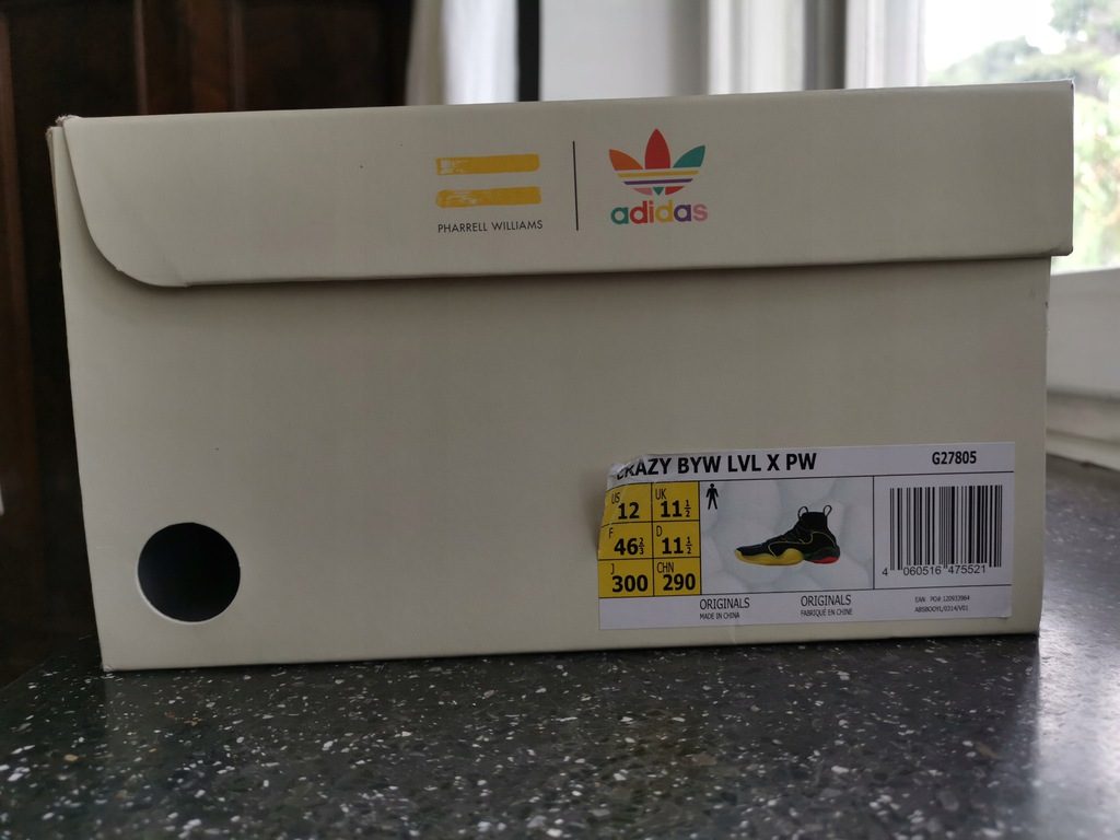 Adidas Crazy BYW LVL x Pharrell WILLIAMS r. 46 23