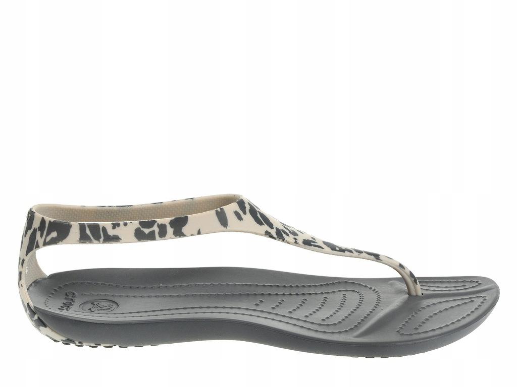 Crocs Sexi Leopard Print Flip Charcoal (36,5)
