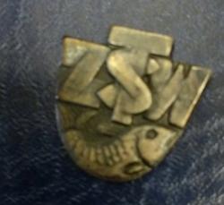 Odznaka wędkarska PZW ZSTW