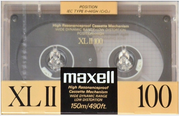 Maxell XL II 100 1988r. NOWA