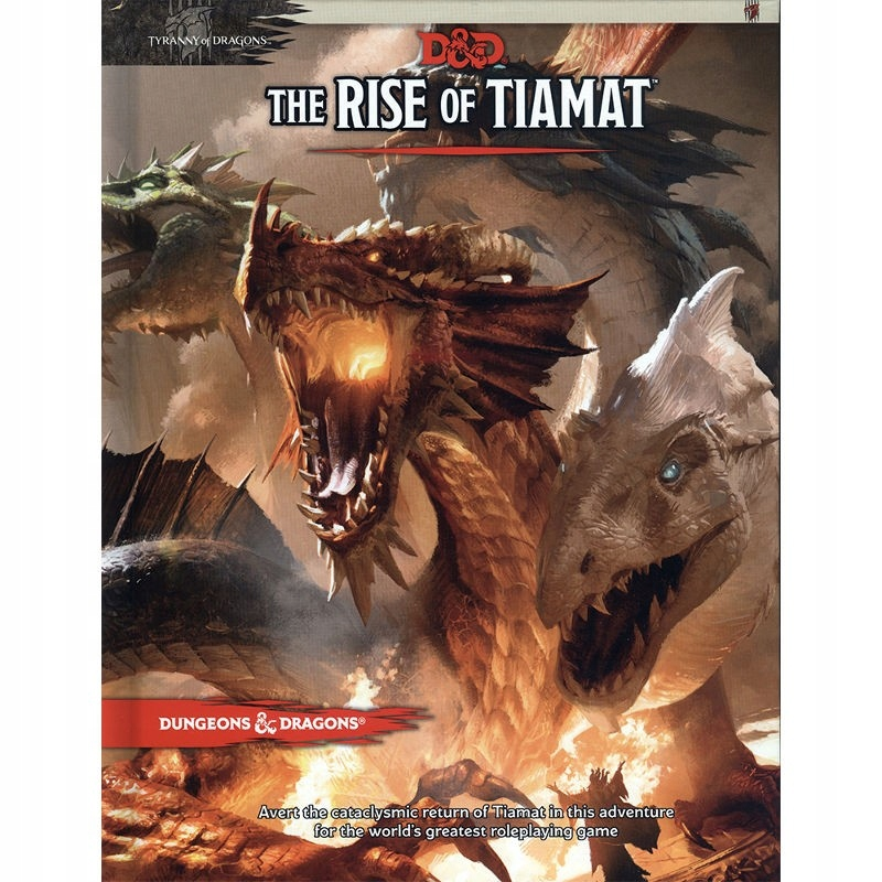 Dungeons and Dragons RPG The Rise of Tiamat OUTLET