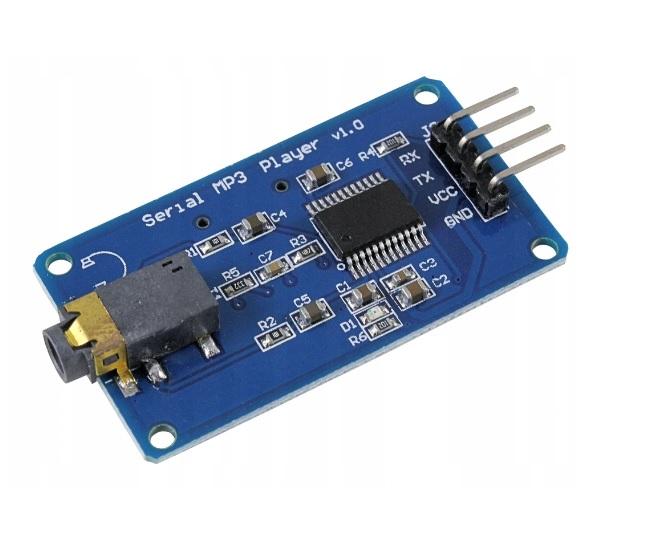 YX5300 MODUŁ MP3 UART TTL Micro SD ARDUINO E1374